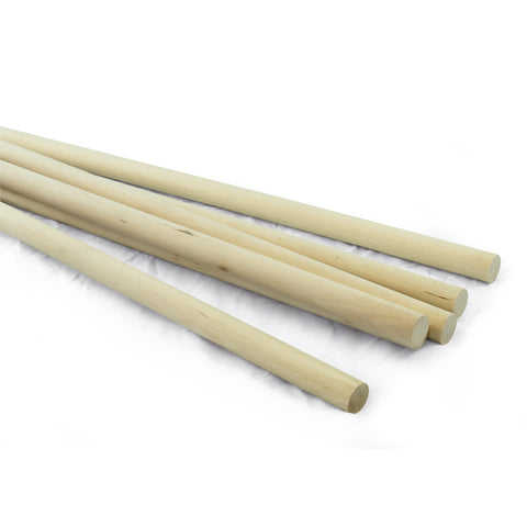 3/4 dia. x 36 Birch Hardwood Dowels-SKU 7911