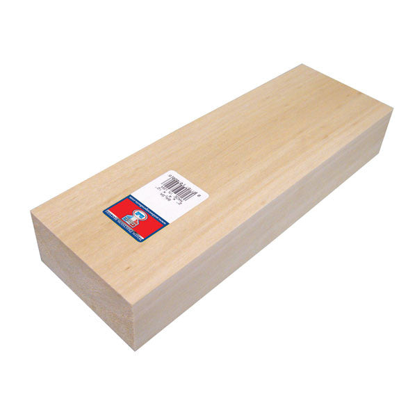 2 X 4 X 12 Balsa Block Sku 7020 Midwest Products