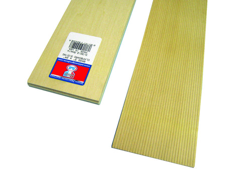 3/32 X 24 Bass Clapboard-SKU 4449