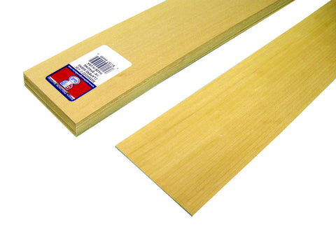 "1/8"" x 24"" Clapboard Siding - SKU 4450"