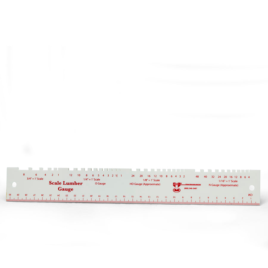 Scale Lumber Gauge Sku 1124 Midwest Products