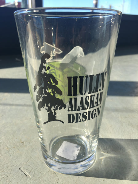 Spenard AK pint glass