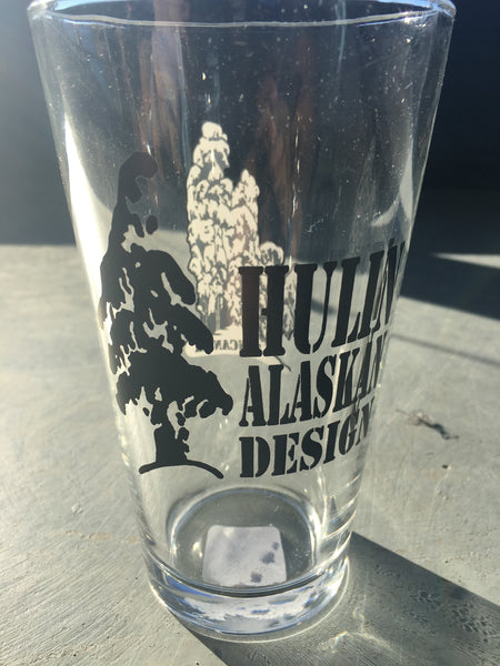 Tincan AK pint glass