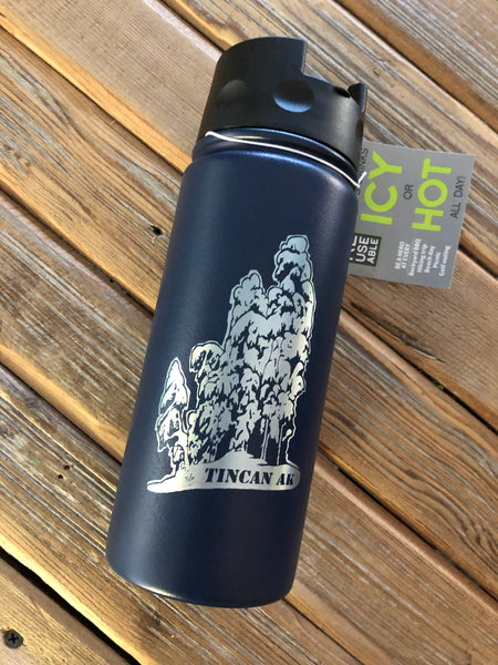 Tincan flip lid 16oz insulated bottle
