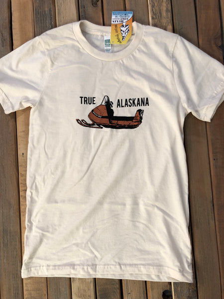 True Alaskana snowmachine tee