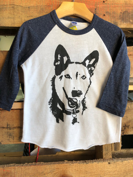 Alaska Pup kids 3/4 sleeve shirt