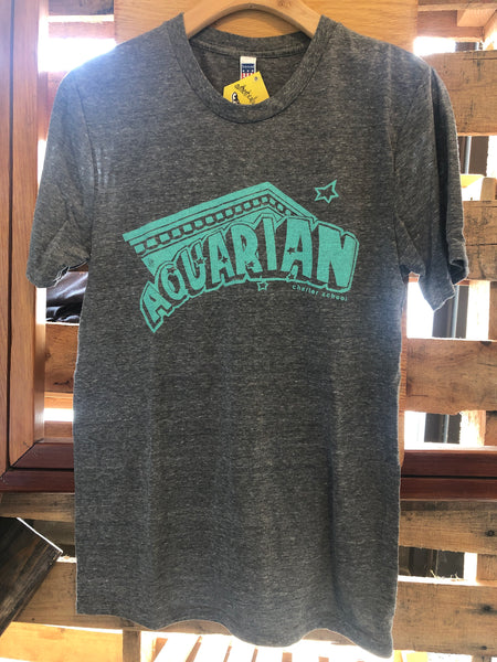 Aquarian kids and adult tees