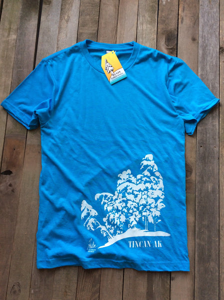 Tincan AK turquoise tee *50% off at checkout!*