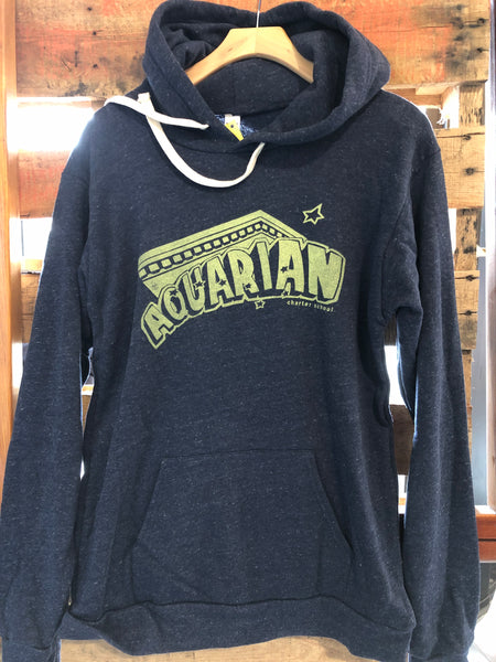 Aquarian Charter School Navy blue adult hoodies