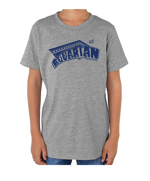 Aquarian 20/21 grey with navy kids and adult tees