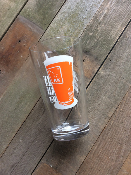 AK pint glass pint glass