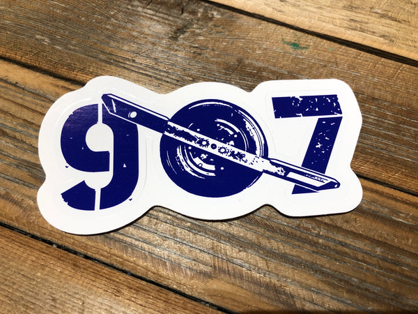 Onewheel inspired 907 stickers