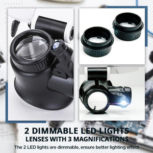 Limited time offer LED Glasses Magnifier 8x 15x 23x (BUY 3 FREE SHIPPING)
