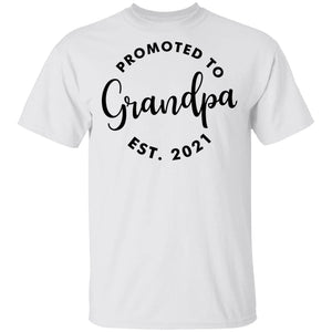 Promoted To Grandpa Est. 2021