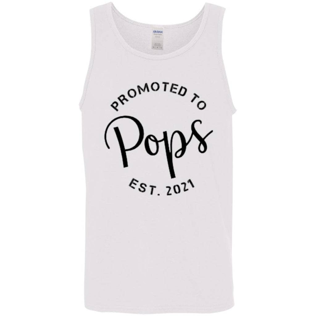 Promoted to Pops Tank Top