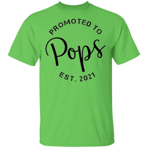 Promoted To Pops T-Shirt