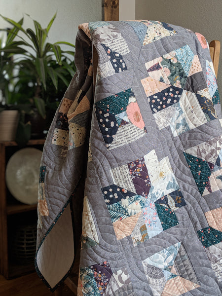 Wild Soul in a wintery AGF fabrics
