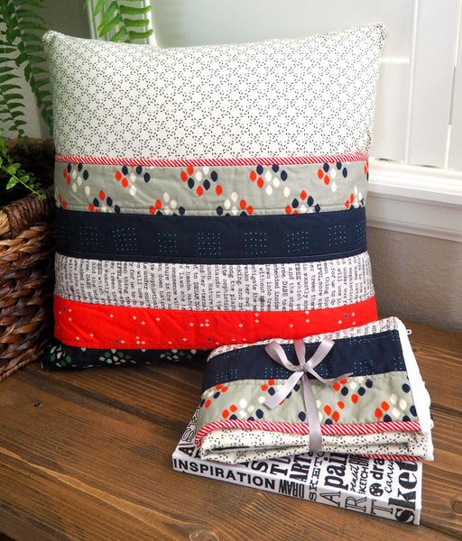 Quilt-as-you-go Pocket Pillows
