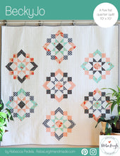 Load image into Gallery viewer, BeckyJo PDF quilt pattern