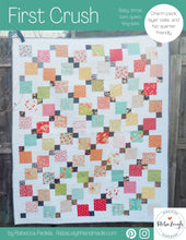 Load image into Gallery viewer, First Crush PDF quilt pattern