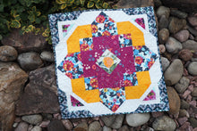"Load image into Gallery viewer, ""Tanzanite"" mini quilt"