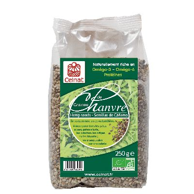 GRAINES DE CHANVRE 250G