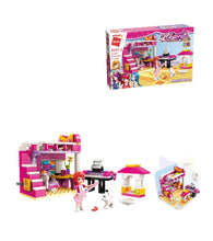 Load image into Gallery viewer, Cherry's Bedroom Building Set Toys for Girls 6+ (118 Pieces) (Multicolor)