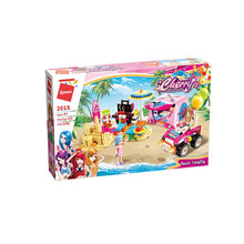 Load image into Gallery viewer, Cherry's Beach Camping Building Blocks for Kids 6 to 12 Years (198 pcs) 2018