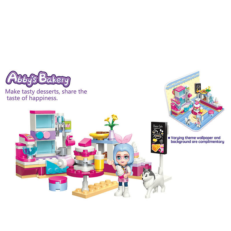 Abby's Bakery Building Set Toys for Girls 6+ (126 Pieces) (Multicolor)