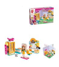 Load image into Gallery viewer, Emily's Bedroom Building Set Toys for Girls 6+ (123 Pieces) (Multicolor)