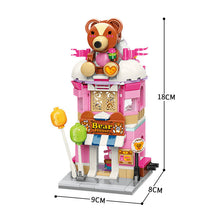 Load image into Gallery viewer, Teddy Theme Store Bricks Toy for Girls 6-12 and Up (281 Pieces)