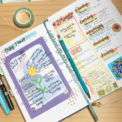 Bullet journaling Bujo explained with Lucyjoy