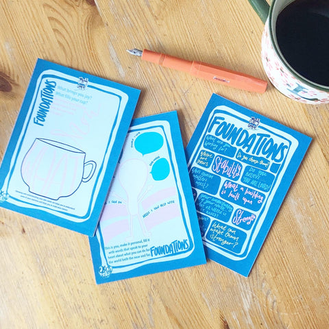 Journaling cards foundations