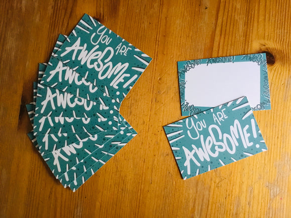 You are awesome cards by LucyJoy sending kind thoughts