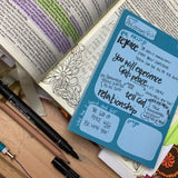 Bible study notepad journaling LucyJoyArtist