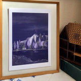 The magic of the hills A4 print Scottish landscape by LucyJoyArtist