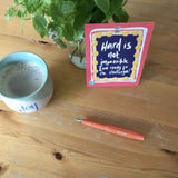 Affirmations - creative journaling with the joy filled cup by LucyJoy
