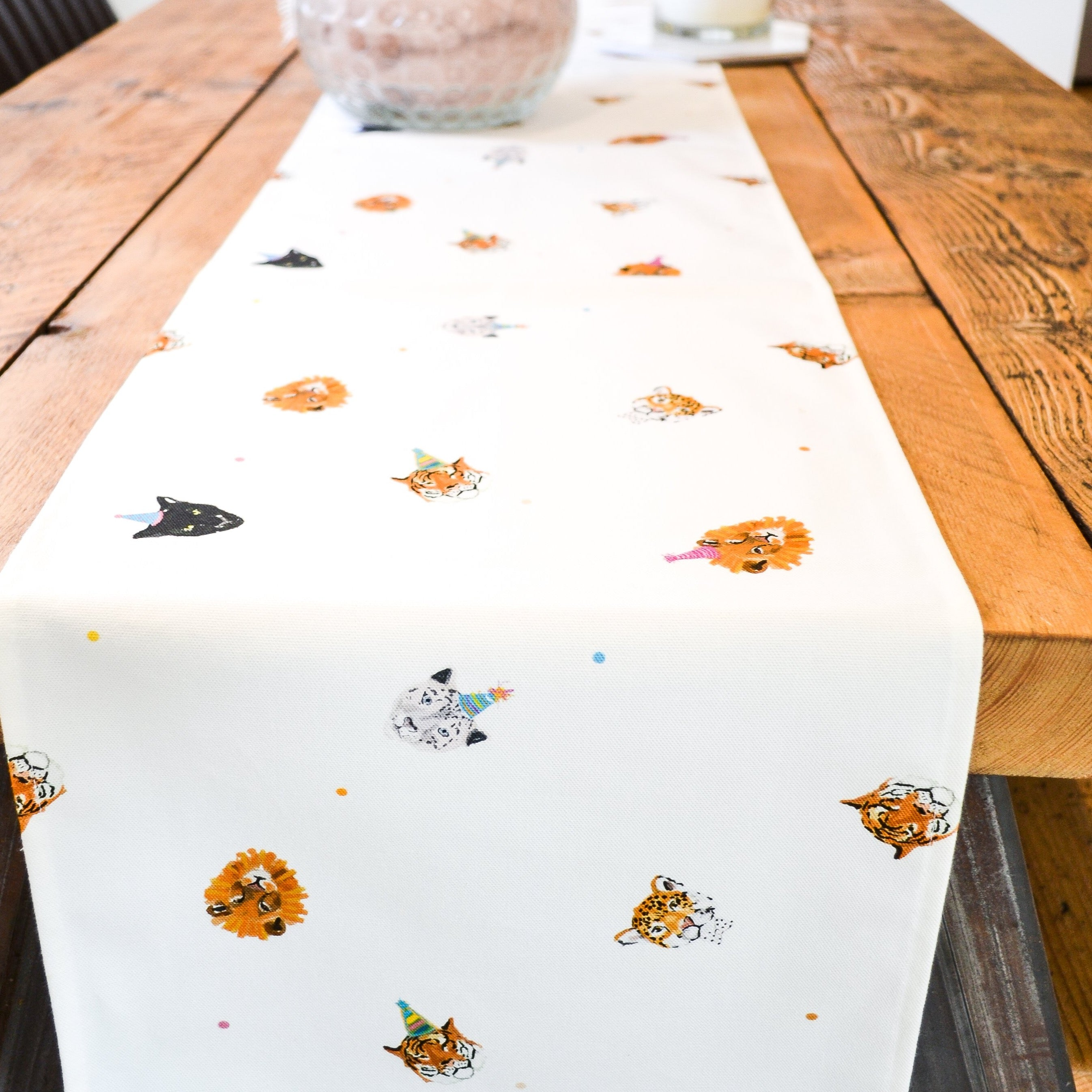 'Party Cats' Table Runner