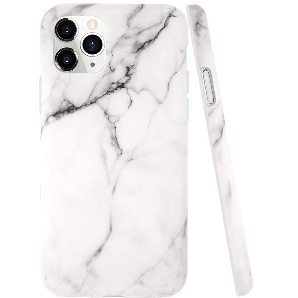iPhone 12 Pro Max Marble TPU Soft Rubber Silicone