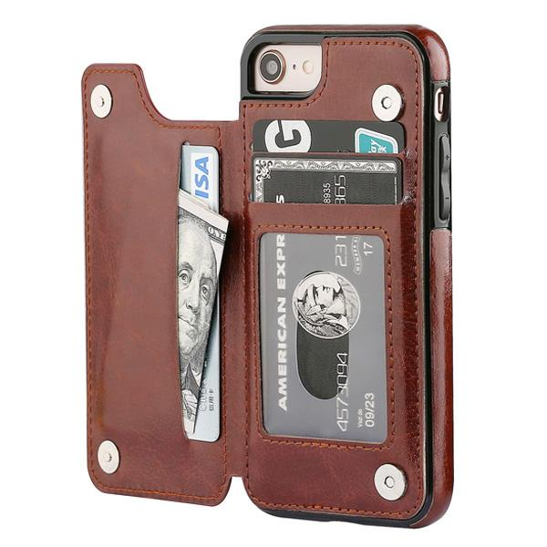 iPhone 7/8/SE Case Back Wallet