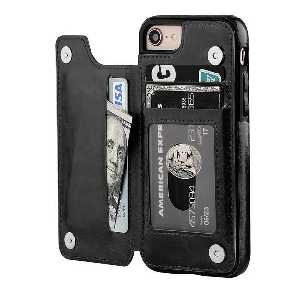 iPhone 6 Plus Case Back Wallet
