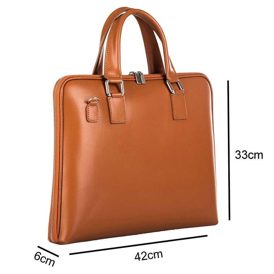 MAYMAX LAPTOP BAG 14 INCH CAMEL