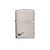 ZIPPO 200pl PIPE BRUSHED CHROME - Refillable Windproof Lighter