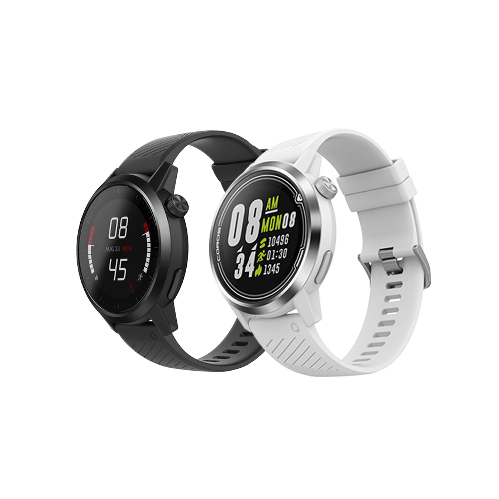 COROS APEX 46mm Multisport GPS Watch - White