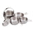 Ace Camp Stainless Steel Cooking Set