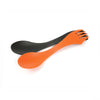 Light My Fire Spork BIO 2-pack - rustyorange/slatyblack