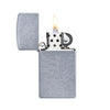 ZIPPO 1607 SLIM® STREET CHROME™ - Refillable Windproof Lighter