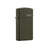 ZIPPO 1627ZL SLIM GREEN MATTE WITH ZIPPO LOGO - Refillable Windproof Lighter