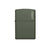 ZIPPO 221ZL GREEN MATTE WITH ZIPPO LOGO - Refillable Windproof Lighter