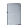 ZIPPO 230 BRUSHED CHROME VINTAGE WITH SLASHES - Refillable Windproof Lighter